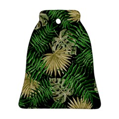 Tropical Pattern Bell Ornament (two Sides) by ValentinaDesign