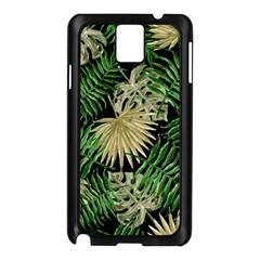 Tropical Pattern Samsung Galaxy Note 3 N9005 Case (black) by ValentinaDesign