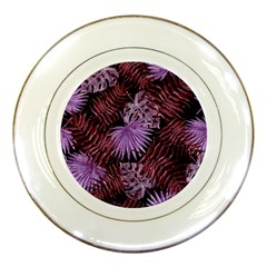 Tropical Pattern Porcelain Plates by ValentinaDesign