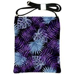 Tropical Pattern Shoulder Sling Bags by ValentinaDesign