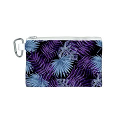 Tropical Pattern Canvas Cosmetic Bag (s) by ValentinaDesign
