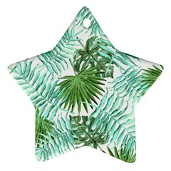 Tropical Pattern Ornament (star) by ValentinaDesign
