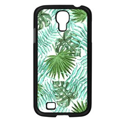 Tropical Pattern Samsung Galaxy S4 I9500/ I9505 Case (black) by ValentinaDesign