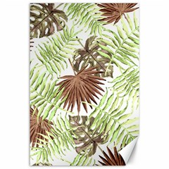 Tropical Pattern Canvas 24  X 36  by ValentinaDesign