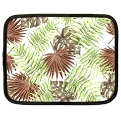 Tropical Pattern Netbook Case (xxl)  by ValentinaDesign