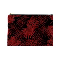 Tropical Pattern Cosmetic Bag (large)  by ValentinaDesign