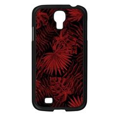 Tropical Pattern Samsung Galaxy S4 I9500/ I9505 Case (black) by ValentinaDesign