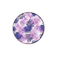 Tropical Pattern Hat Clip Ball Marker by ValentinaDesign