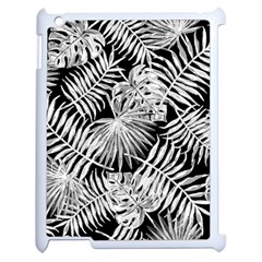 Tropical Pattern Apple Ipad 2 Case (white) by ValentinaDesign