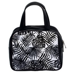 Tropical Pattern Classic Handbags (2 Sides) by ValentinaDesign