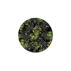 Tropical Pattern Golf Ball Marker (4 Pack) by ValentinaDesign