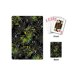 Tropical Pattern Playing Cards (mini)  by ValentinaDesign