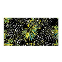 Tropical Pattern Satin Wrap by ValentinaDesign