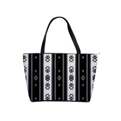 Folklore Pattern Shoulder Handbags by ValentinaDesign