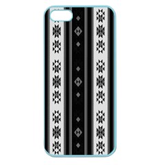 Folklore Pattern Apple Seamless Iphone 5 Case (color) by ValentinaDesign