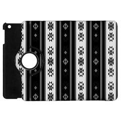 Folklore Pattern Apple Ipad Mini Flip 360 Case by ValentinaDesign