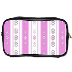 Folklore Pattern Toiletries Bags 2 Side by ValentinaDesign