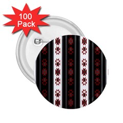 Folklore Pattern 2 25  Buttons (100 Pack)  by ValentinaDesign