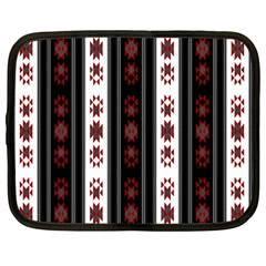 Folklore Pattern Netbook Case (large) by ValentinaDesign
