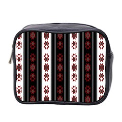 Folklore Pattern Mini Toiletries Bag 2 Side by ValentinaDesign