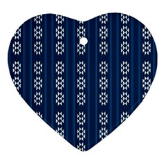 Folklore Pattern Ornament (heart) by ValentinaDesign