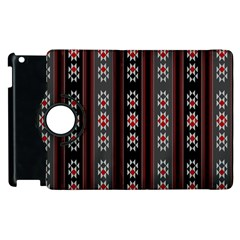 Folklore Pattern Apple Ipad 3/4 Flip 360 Case by ValentinaDesign