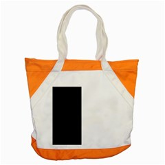 Black And White Accent Tote Bag by Valentinaart