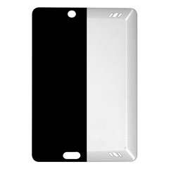 Black And White Amazon Kindle Fire Hd (2013) Hardshell Case by Valentinaart