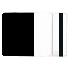 Black And White Ipad Air Flip by Valentinaart