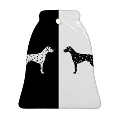 Dalmatian Dog Ornament (bell) by Valentinaart