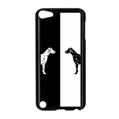 Dalmatian Dog Apple Ipod Touch 5 Case (black) by Valentinaart