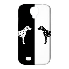 Dalmatian Dog Samsung Galaxy S4 Classic Hardshell Case (pc+silicone) by Valentinaart