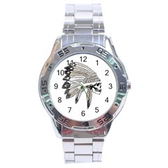 Indian Chef  Stainless Steel Analogue Watch