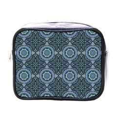 Oriental Pattern Mini Toiletries Bags by ValentinaDesign