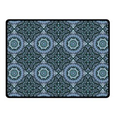 Oriental Pattern Fleece Blanket (small) by ValentinaDesign