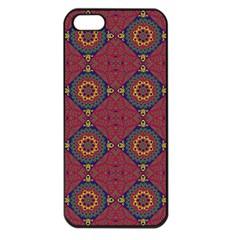 Oriental Pattern Apple Iphone 5 Seamless Case (black) by ValentinaDesign