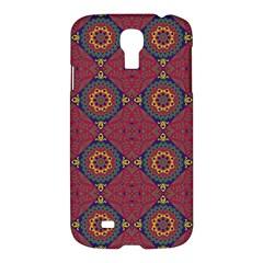 Oriental Pattern Samsung Galaxy S4 I9500/i9505 Hardshell Case by ValentinaDesign