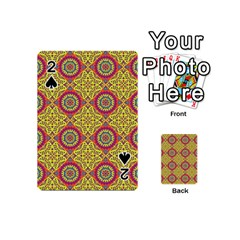 Oriental Pattern Playing Cards 54 (mini)  by ValentinaDesign