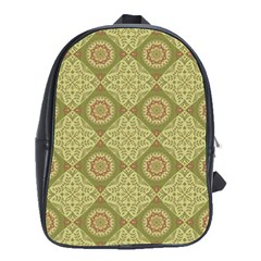 Oriental Pattern School Bag (large) by ValentinaDesign