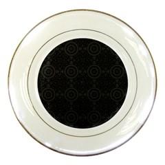 Oriental Pattern Porcelain Plates by ValentinaDesign