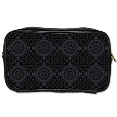 Oriental Pattern Toiletries Bags 2 Side by ValentinaDesign