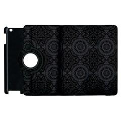 Oriental Pattern Apple Ipad 2 Flip 360 Case by ValentinaDesign