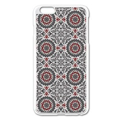 Oriental Pattern Apple Iphone 6 Plus/6s Plus Enamel White Case by ValentinaDesign