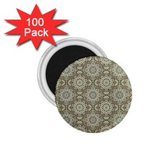 Oriental Pattern 1 75  Magnets (100 Pack)  by ValentinaDesign
