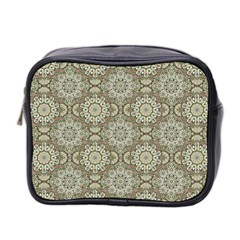 Oriental Pattern Mini Toiletries Bag 2 Side by ValentinaDesign