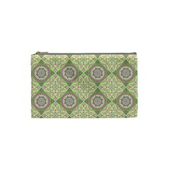 Oriental Pattern Cosmetic Bag (small)  by ValentinaDesign