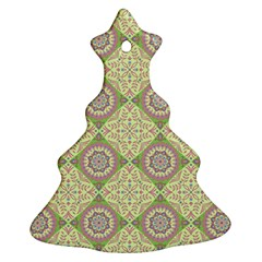 Oriental Pattern Ornament (christmas Tree)  by ValentinaDesign