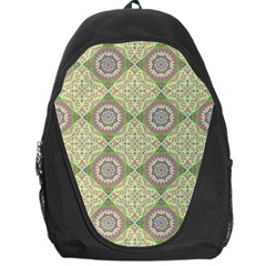 Oriental Pattern Backpack Bag by ValentinaDesign
