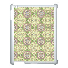 Oriental Pattern Apple Ipad 3/4 Case (white) by ValentinaDesign