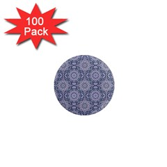 Oriental Pattern 1  Mini Magnets (100 Pack)  by ValentinaDesign